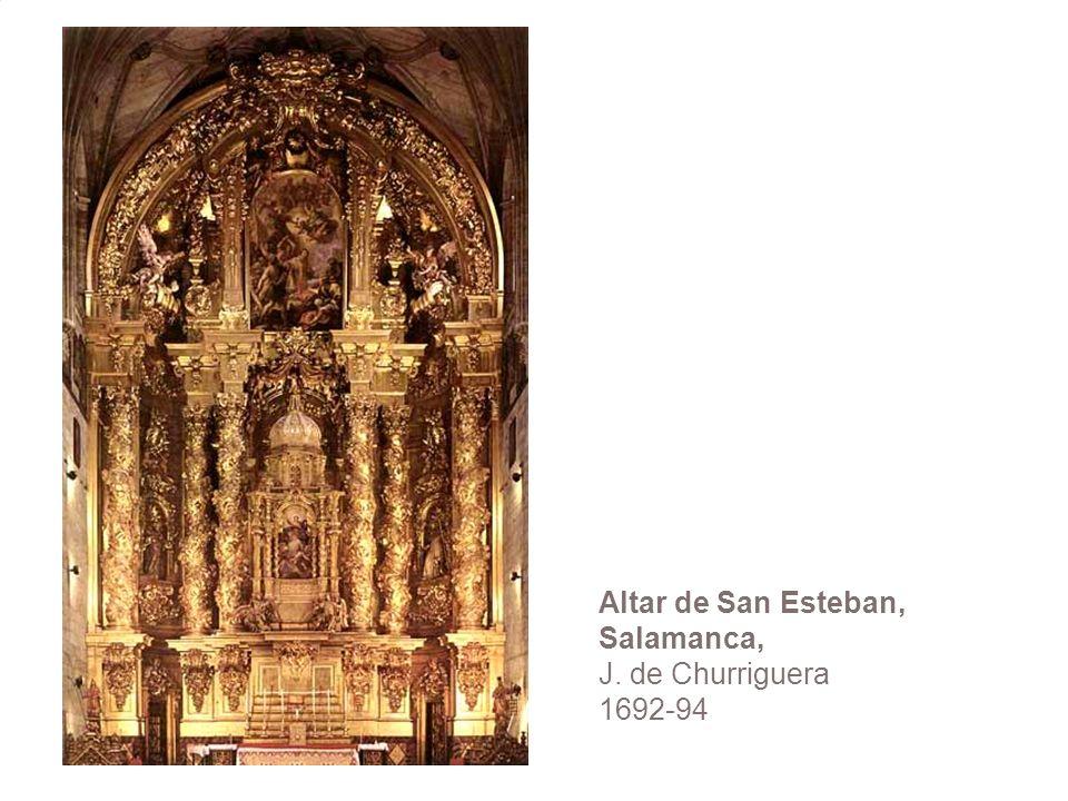 Altar de San Esteban, Salamanca, J. de Churriguera 1692-94