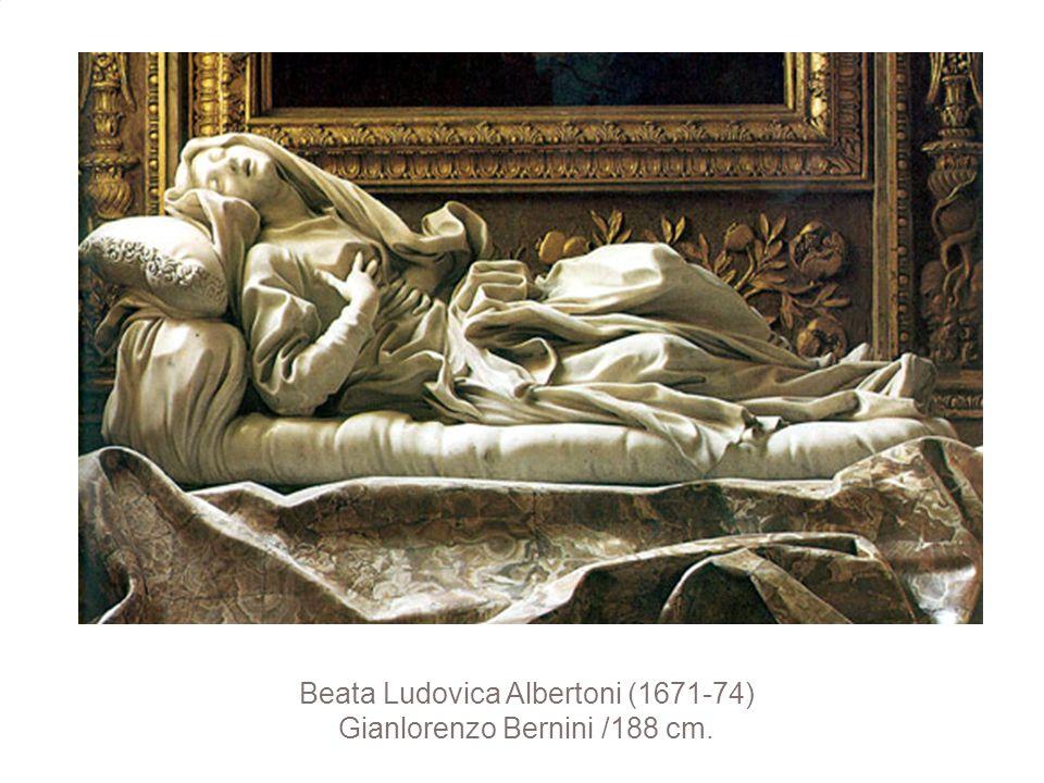 Beata Ludovica Albertoni (1671-74) Gianlorenzo Bernini /188 cm.