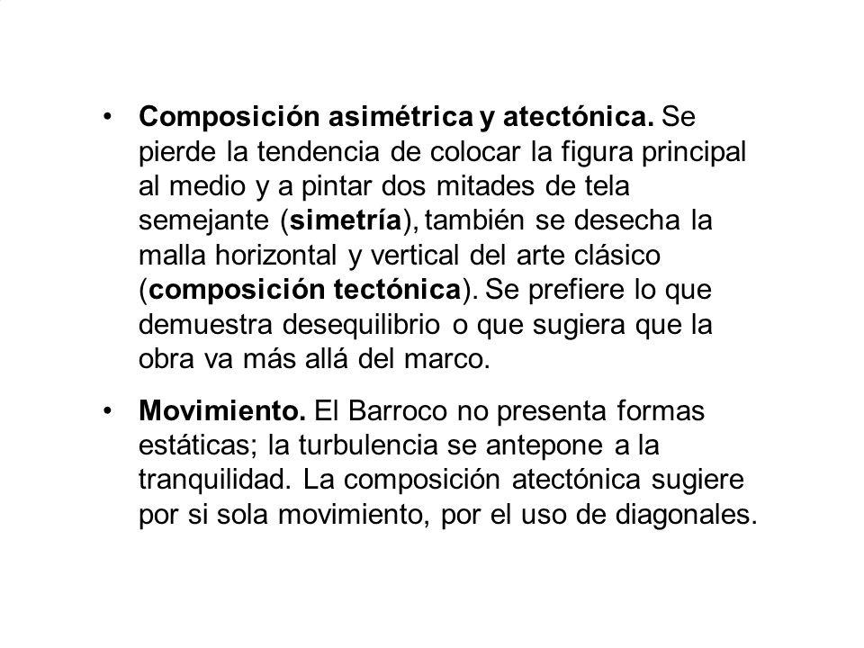 Composición asimétrica y atectónica