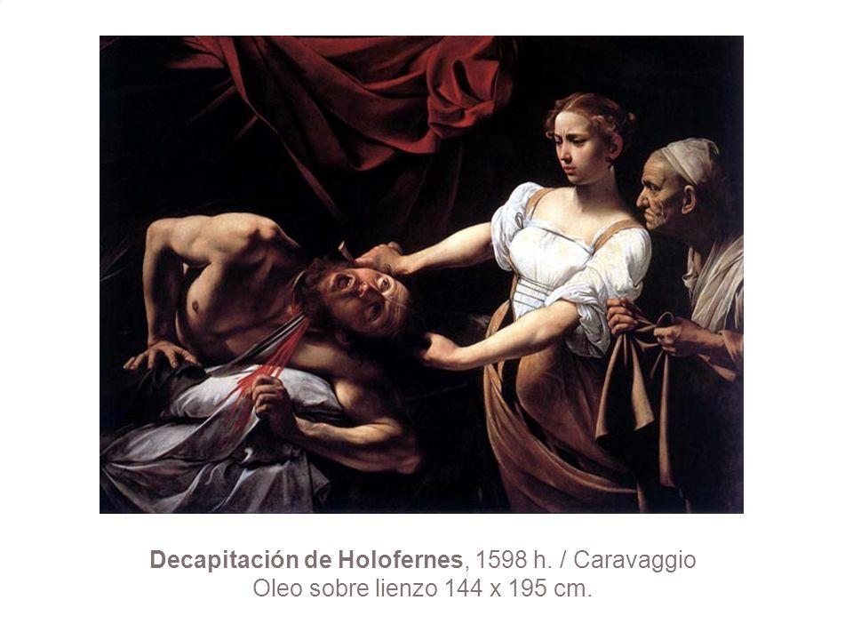 Decapitación de Holofernes, 1598 h