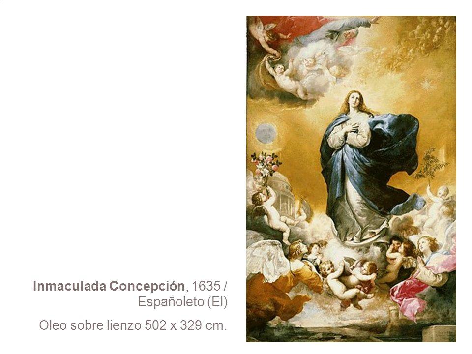 Inmaculada Concepción, 1635 / Españoleto (El)