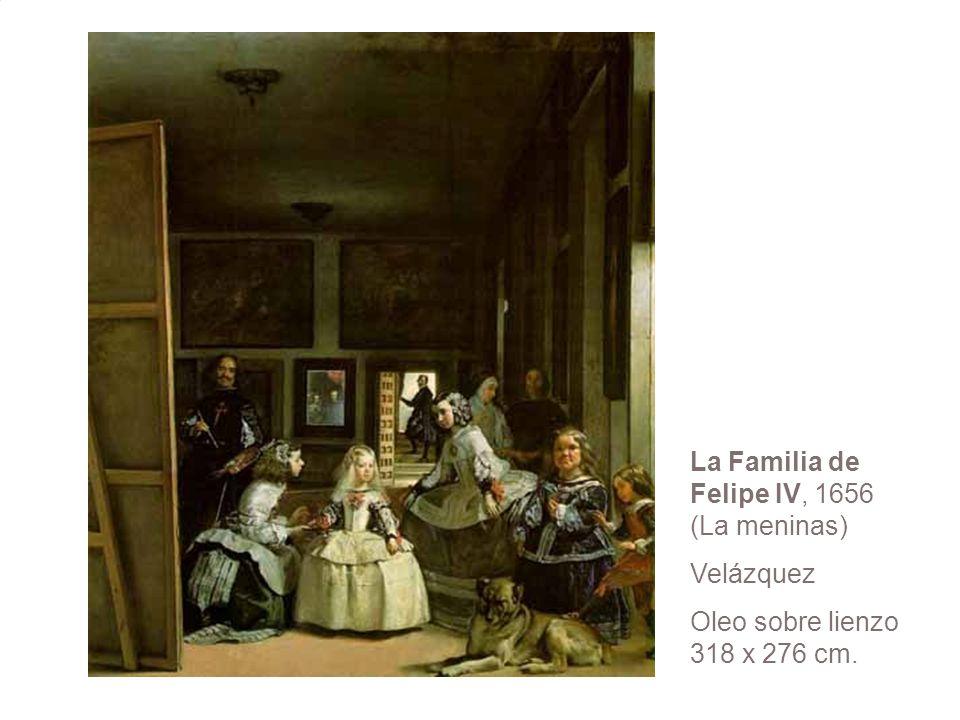 La Familia de Felipe IV, 1656 (La meninas)