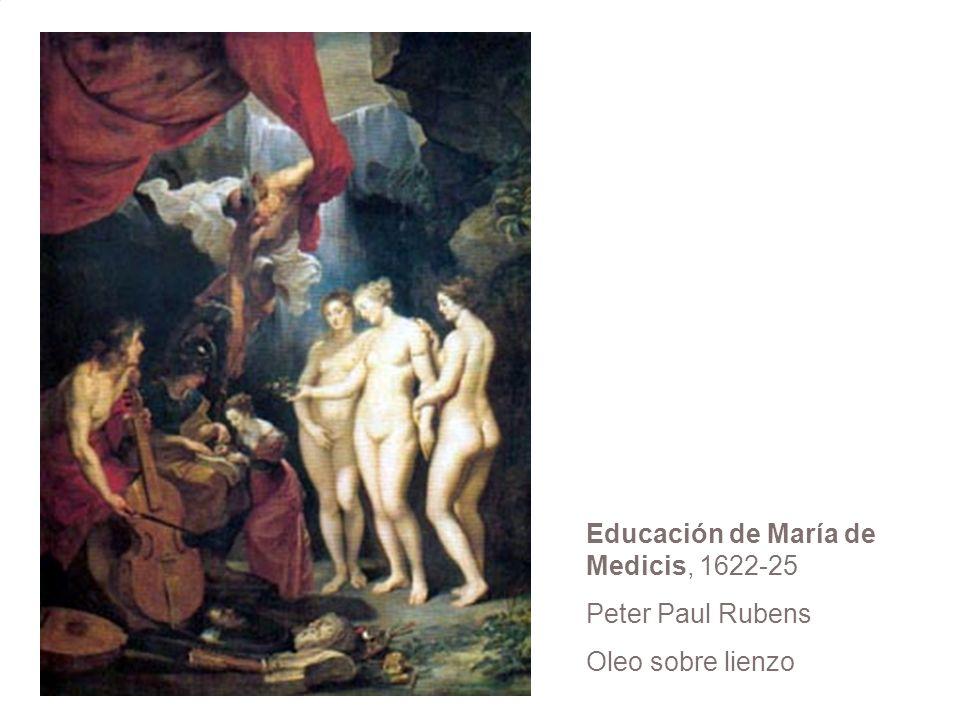 Educación de María de Medicis, 1622-25