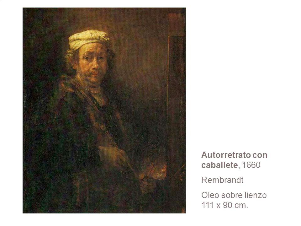 Autorretrato con caballete, 1660