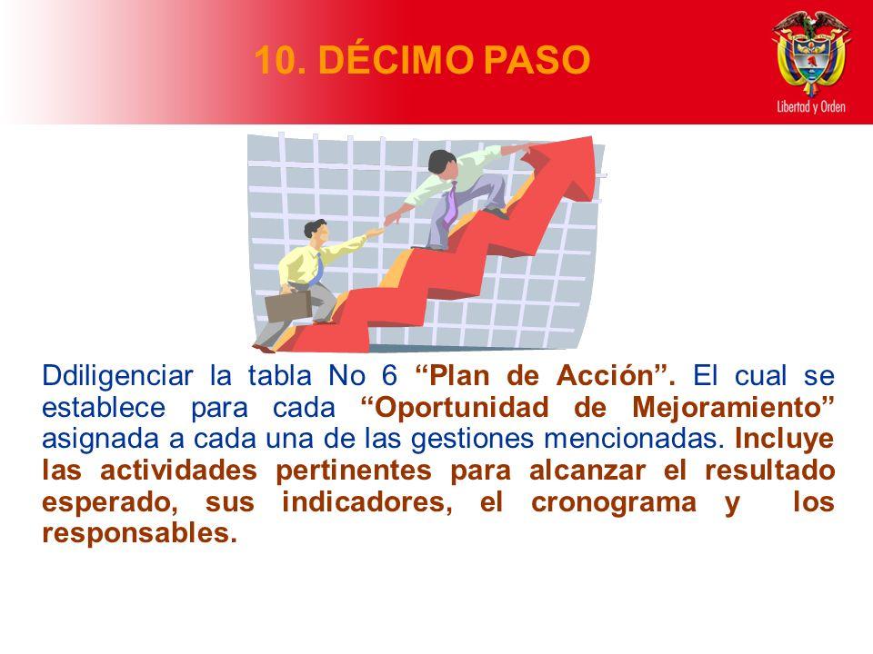 10. DÉCIMO PASO