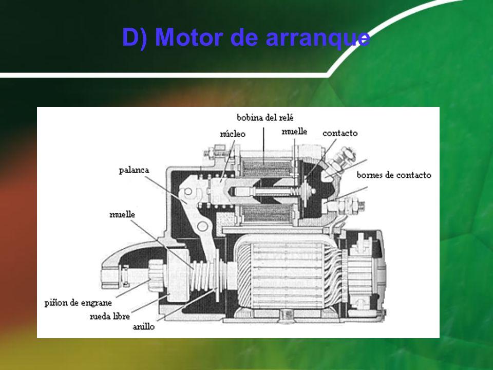 D) Motor de arranque
