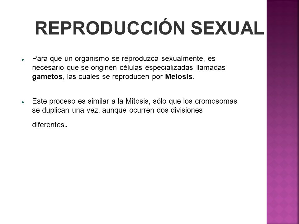 REPRODUCCIÓN SEXUAL
