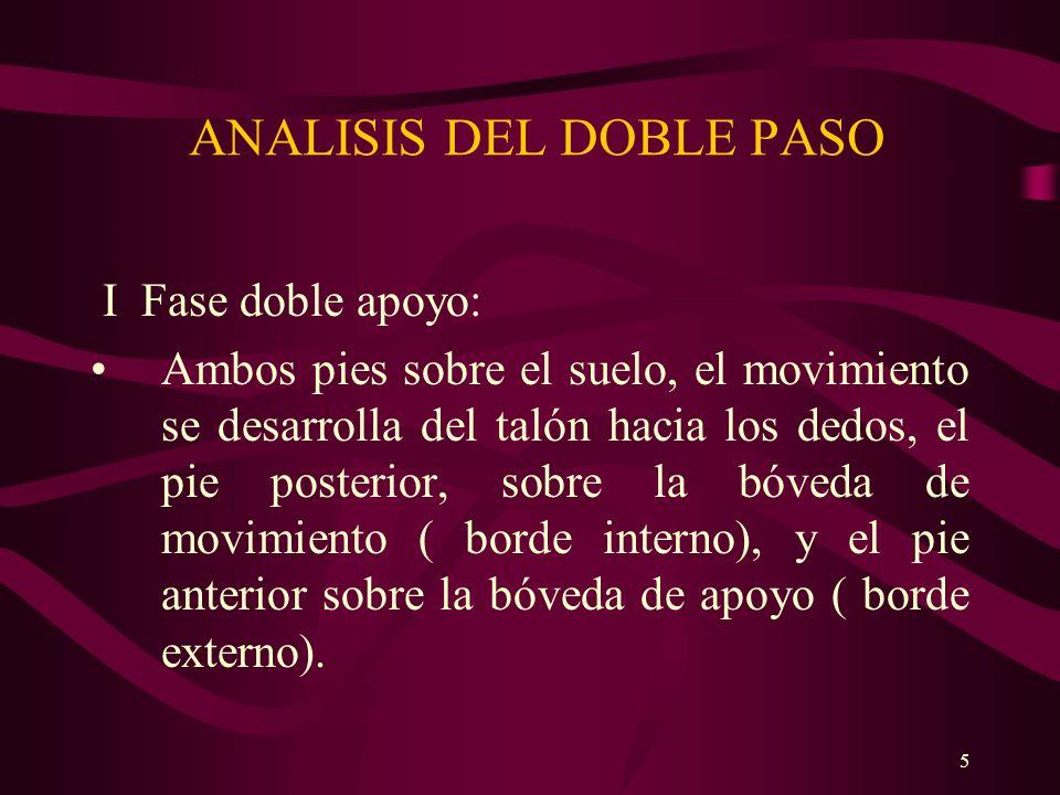 ANALISIS DEL DOBLE PASO