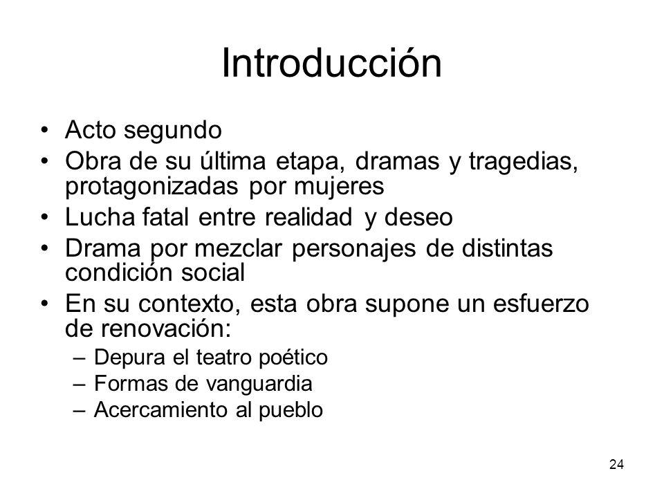 Introducción Acto segundo