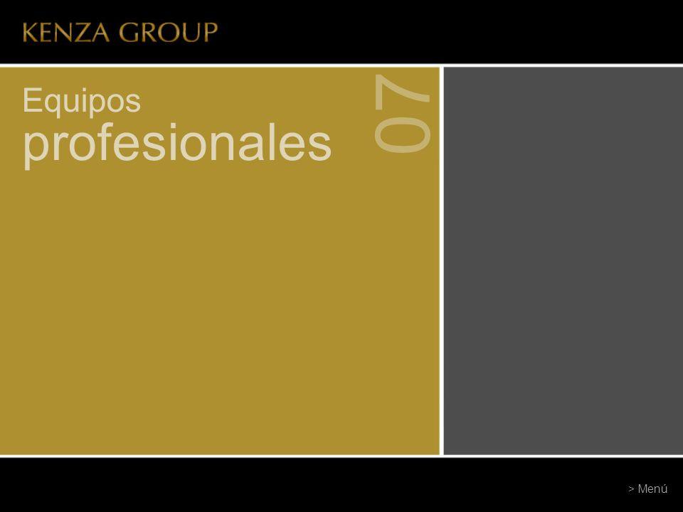 07 Equipos profesionales > Menú