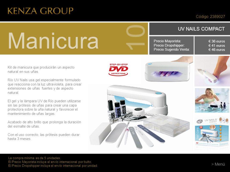 10 Manicura UV NAILS COMPACT Código 2389027 > Menú