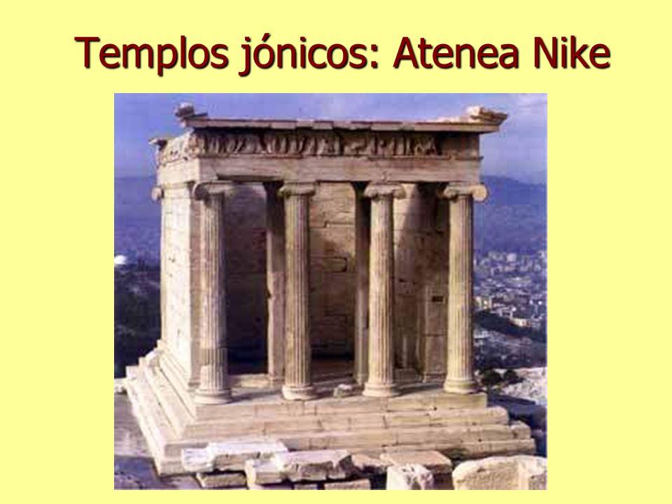 Templos jónicos: Atenea Nike