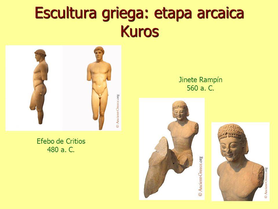 Escultura griega: etapa arcaica Kuros