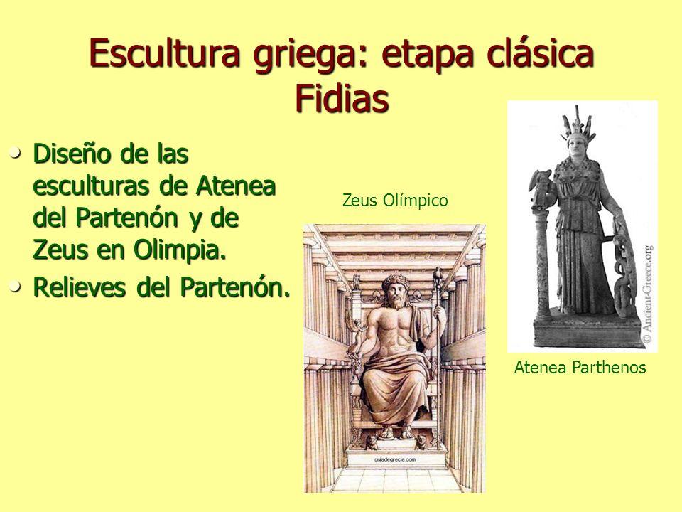 Escultura griega: etapa clásica Fidias