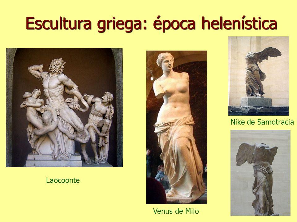 Escultura griega: época helenística