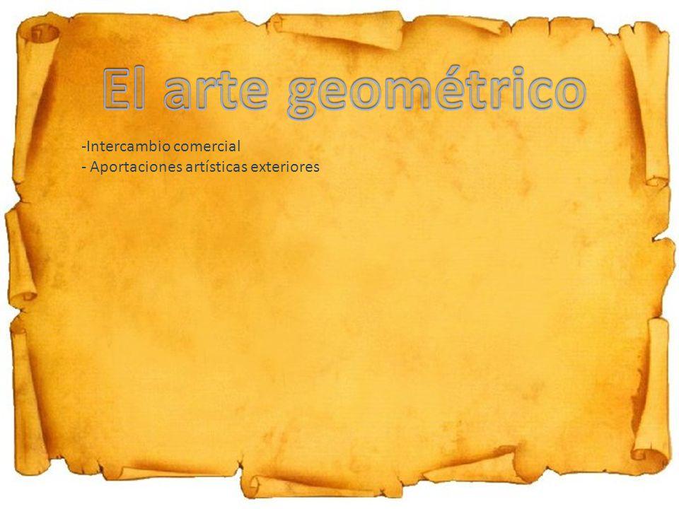 El arte geométrico Intercambio comercial