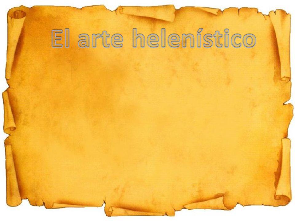 El arte helenístico