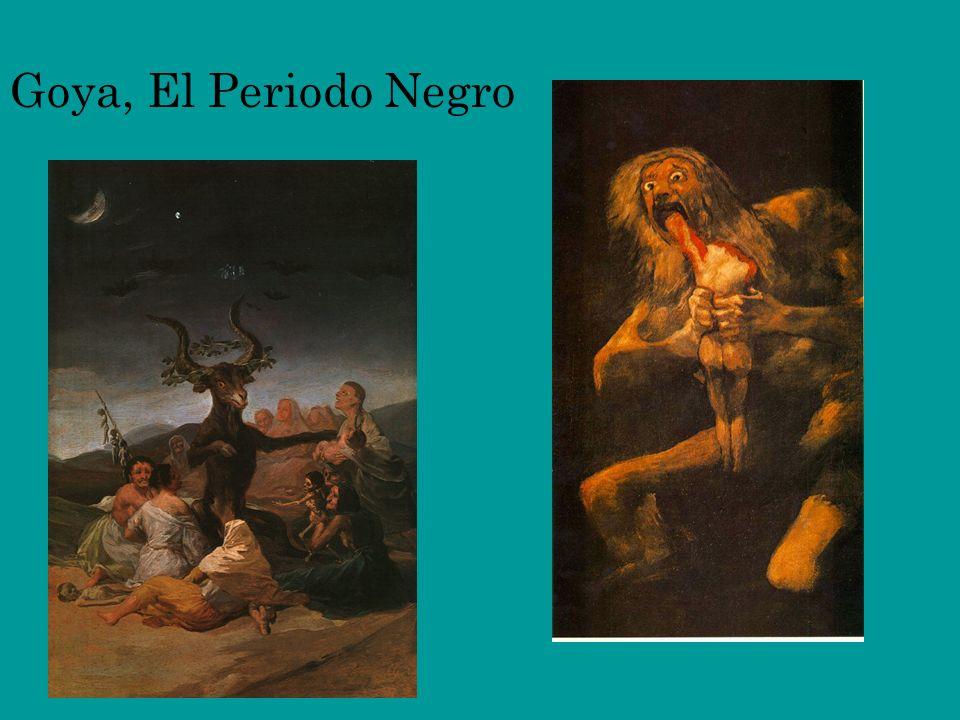 Goya, El Periodo Negro