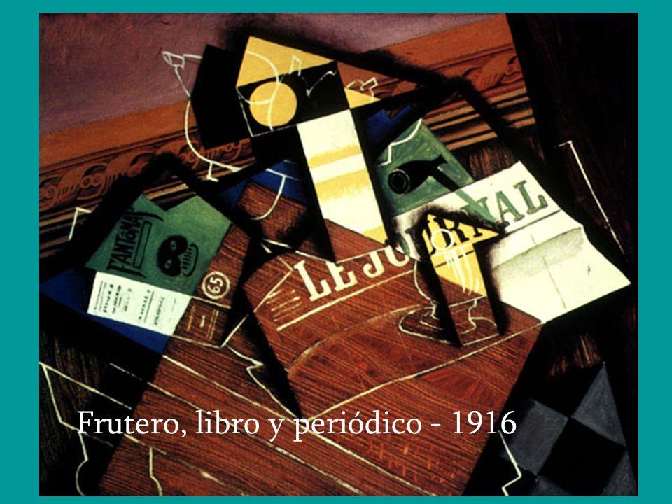 Frutero, libro y periódico - 1916