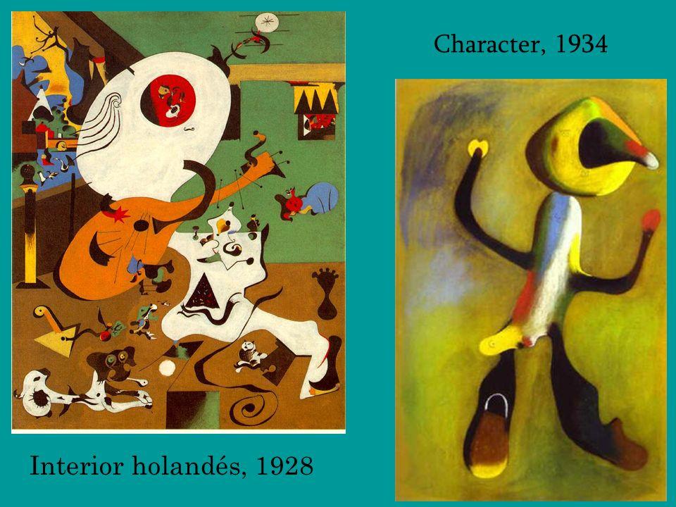 Character, 1934 Interior holandés, 1928