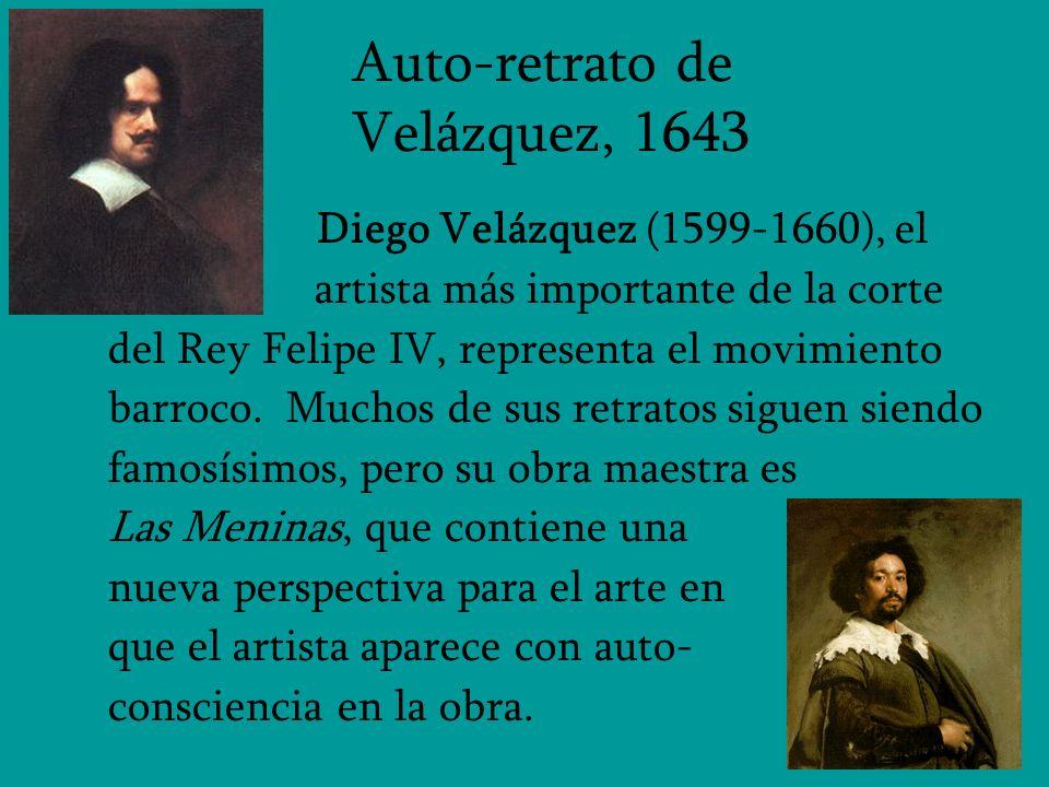 Auto-retrato de Velázquez, 1643