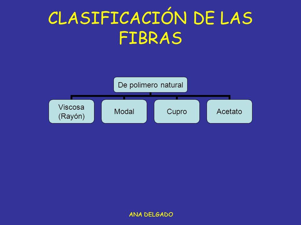 CLASIFICACIÓN DE LAS FIBRAS
