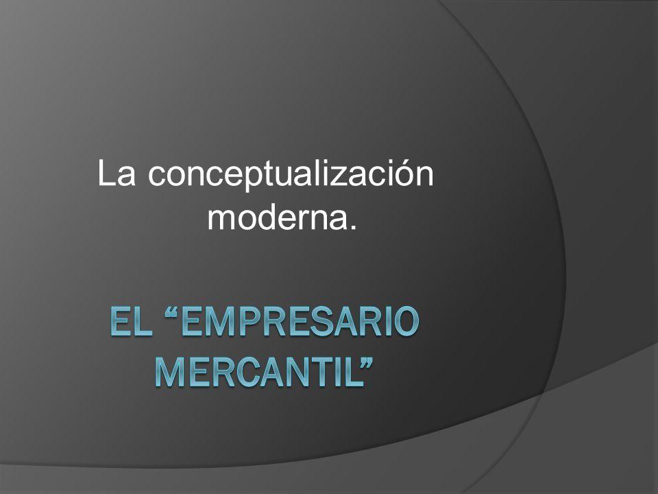 El empresario mercantil
