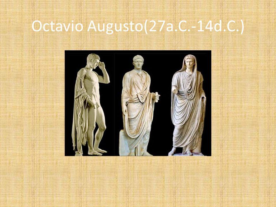 Octavio Augusto(27a.C.-14d.C.)