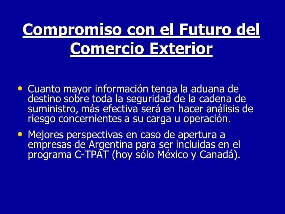 Compromiso con el Futuro del Comercio Exterior