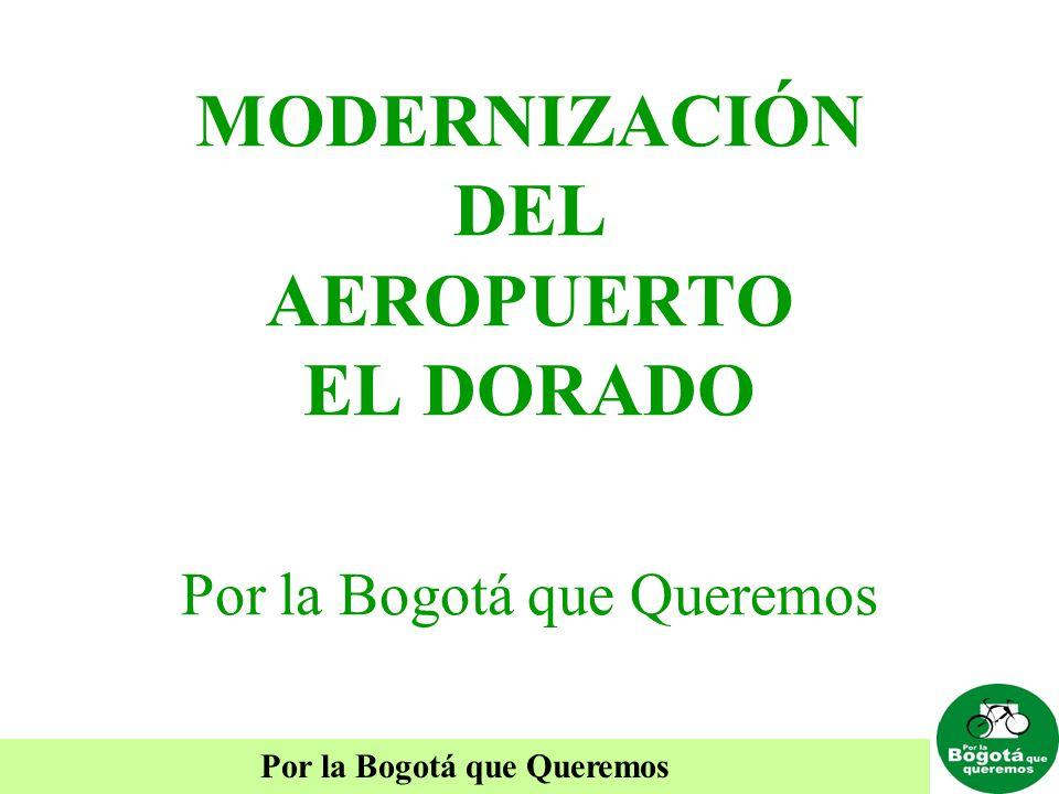 MODERNIZACIÓN DEL AEROPUERTO EL DORADO