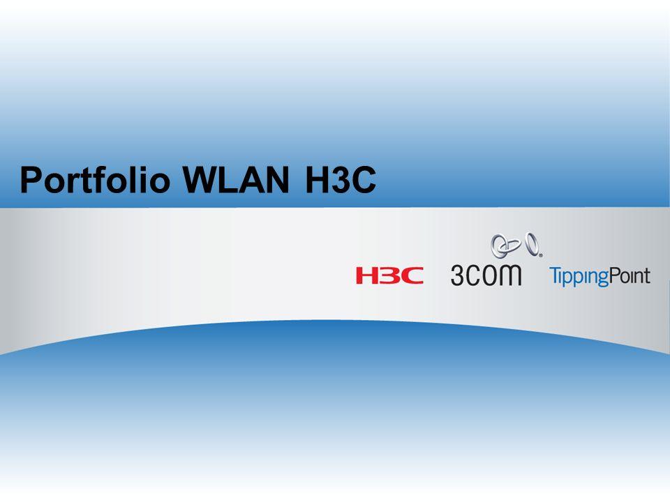 Portfolio WLAN H3C