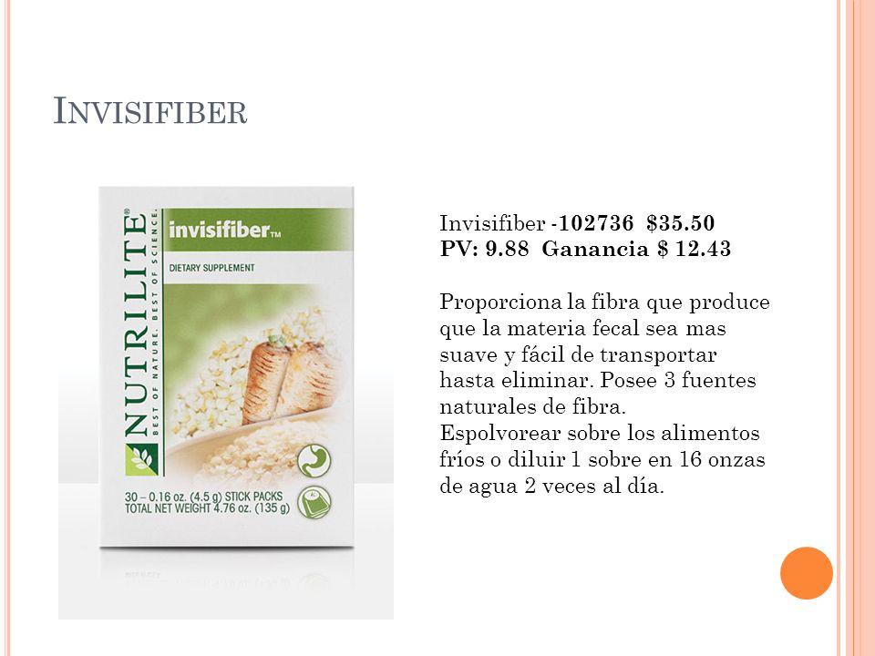 Invisifiber Invisifiber -102736 $35.50 PV: 9.88 Ganancia $ 12.43