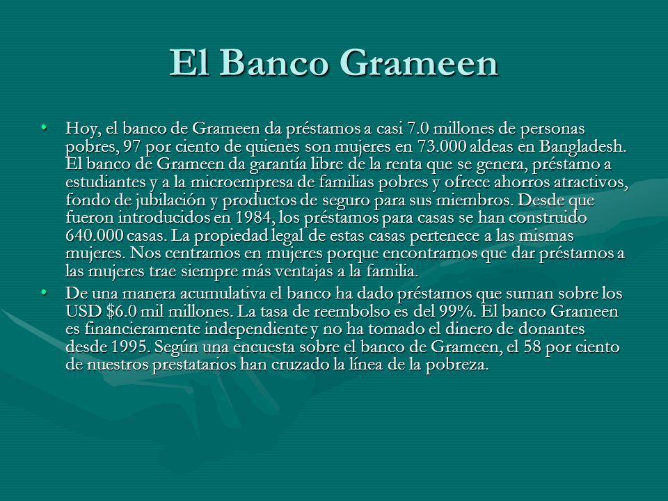 El Banco Grameen