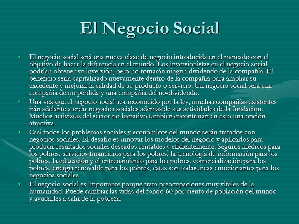 El Negocio Social