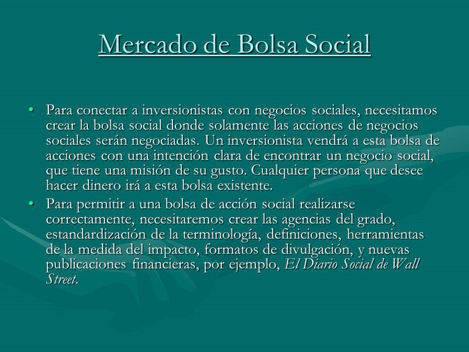 Mercado de Bolsa Social