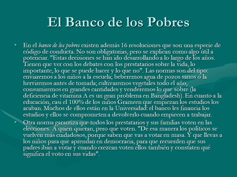 El Banco de los Pobres