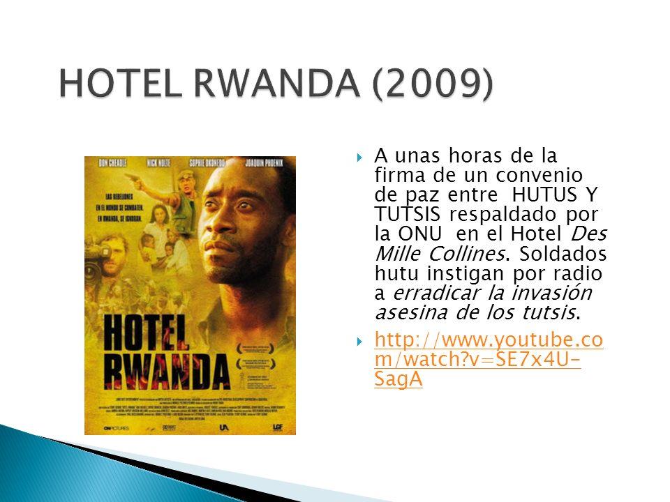 HOTEL RWANDA (2009)
