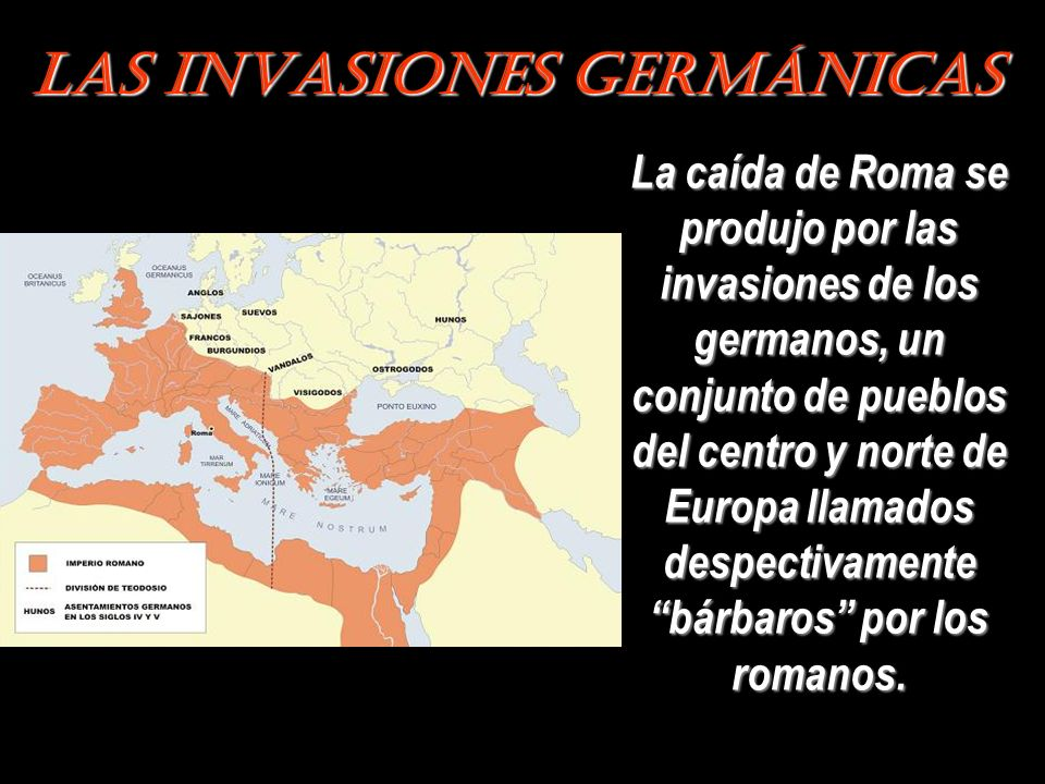 Las Invasiones Germánicas
