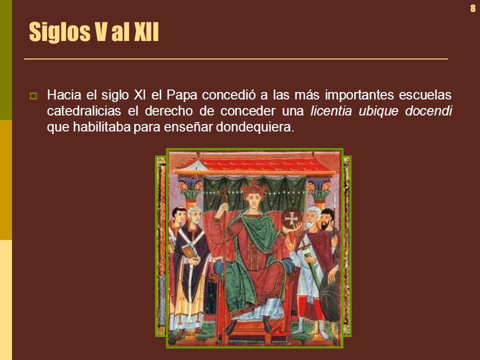Siglos V al XII