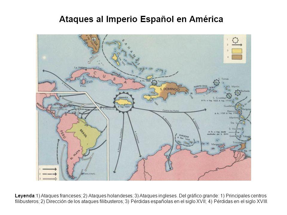 Ataques al Imperio Español en América