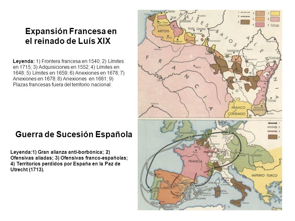 Expansión Francesa en el reinado de Luís XIX