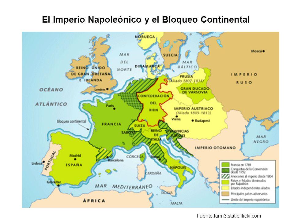 El Imperio Napoleónico y el Bloqueo Continental