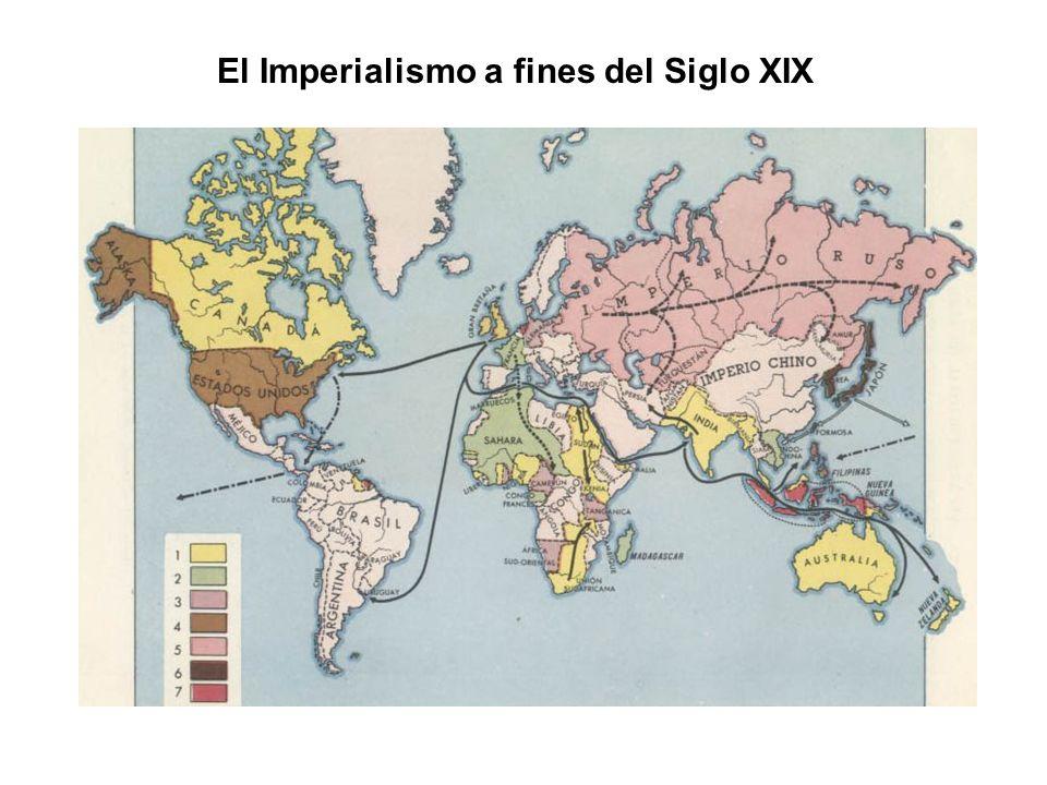 El Imperialismo a fines del Siglo XIX