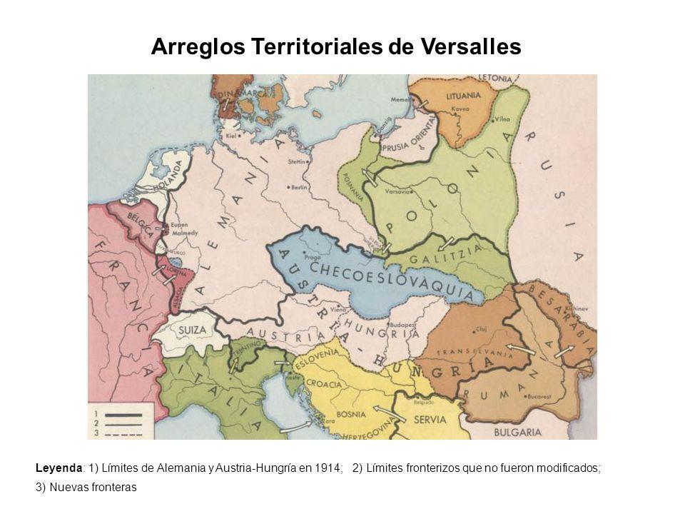 Arreglos Territoriales de Versalles