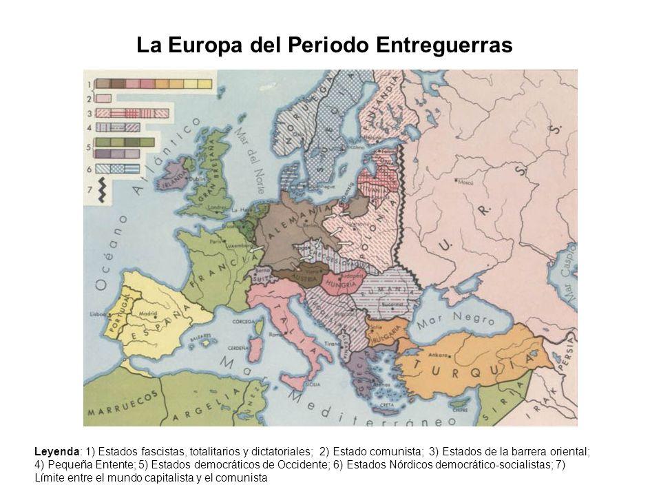La Europa del Periodo Entreguerras