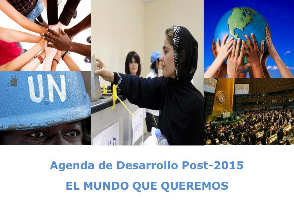 Agenda de Desarrollo Post-2015