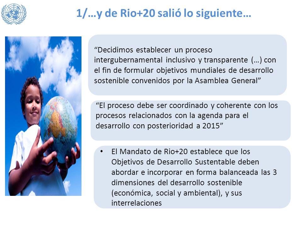 1/…y de Rio+20 salió lo siguiente…