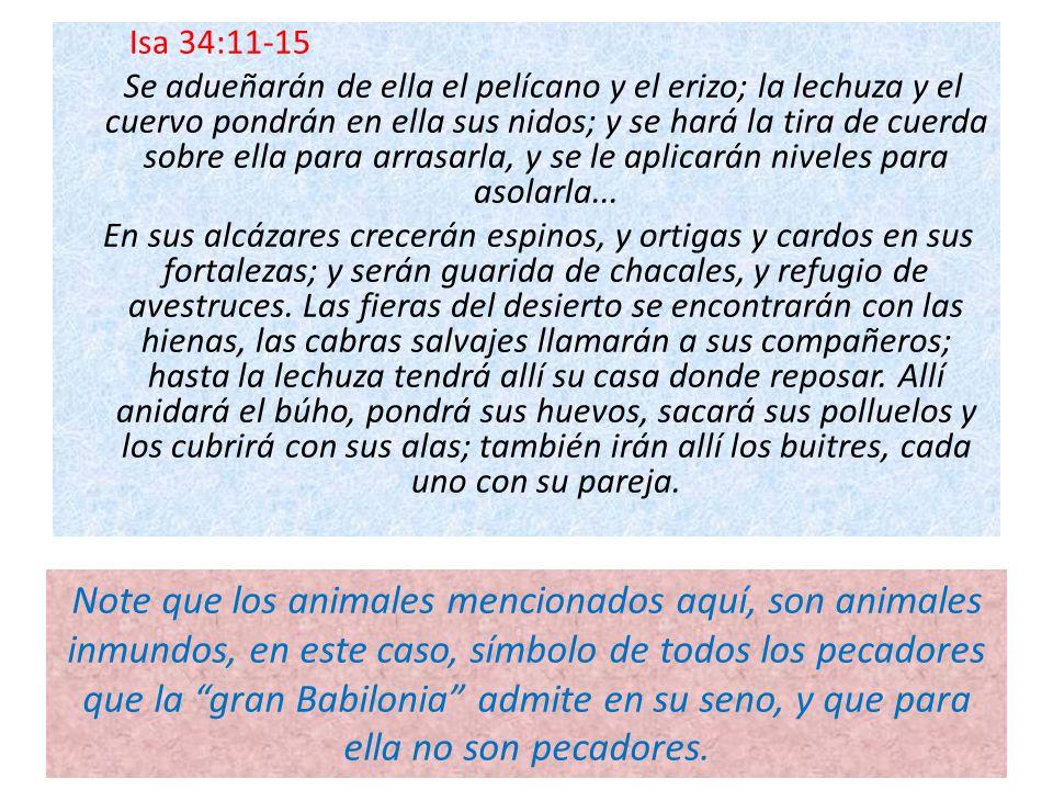 Isa 34:11-15