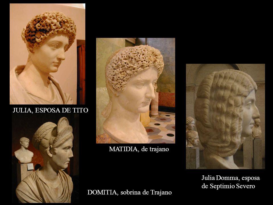 JULIA, ESPOSA DE TITO MATIDIA, de trajano. Julia Domma, esposa.