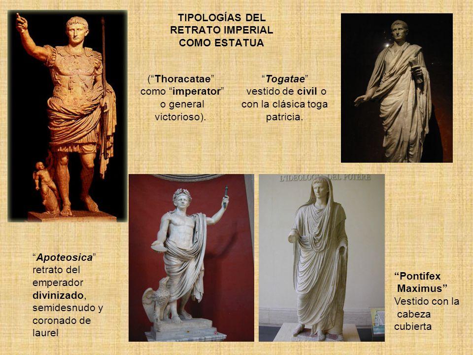 TIPOLOGÍAS DEL RETRATO IMPERIAL COMO ESTATUA